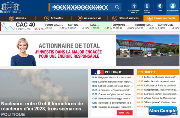 www.boursedirect.fr site bourse en direct