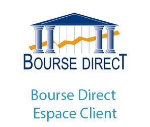 Connexion Bourse Direct Client