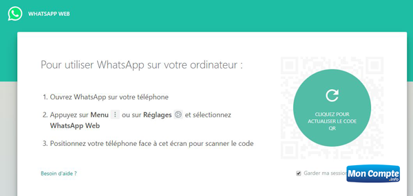 Web.whatsapp.com version ordinateur