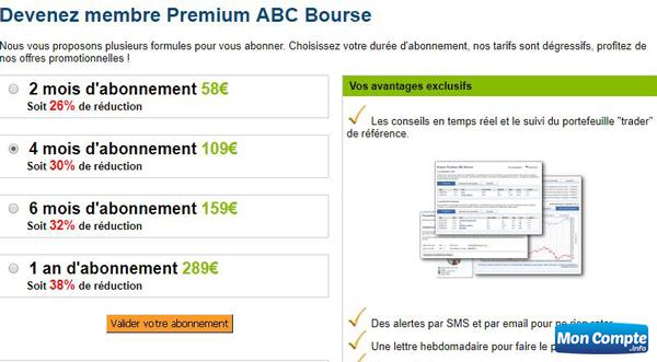 membre Premium d'Abcbourse