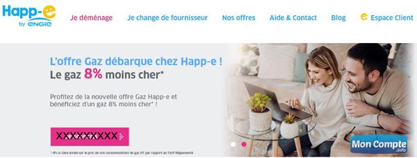 site fournisseur énergie : www.happ-e.fr