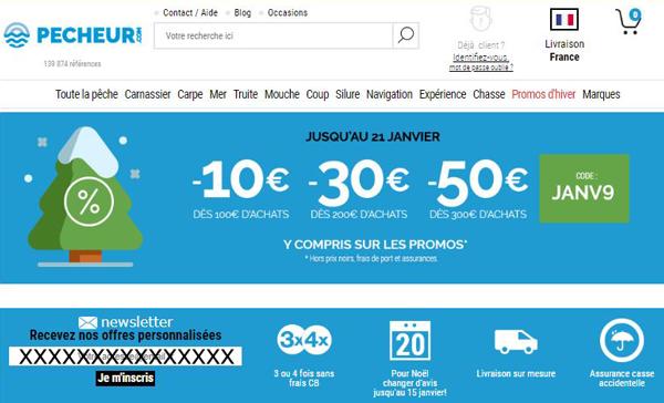 magasin de pêche en ligne : Pêcheur.com