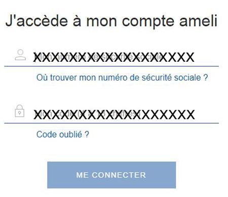 se connecter à mon compte amelie.fr