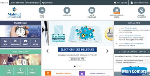 site du groupe matmut : www.matmut.fr