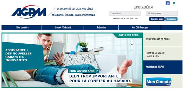 www.agpm.fr : site officiel de la mutuelle AGPM