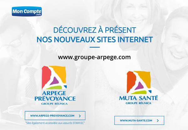 www.groupe-arpege.com espace membre : site de connexion