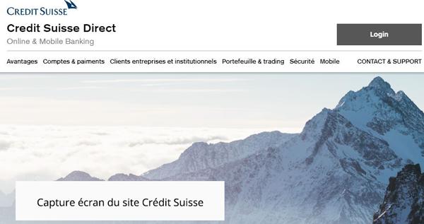 www.credit-suisse.com site de crédit suisse directnet
