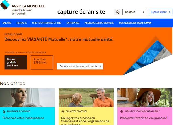 connexion compte Reunica Ag2r sur le site www.ag2rlamondiale.fr