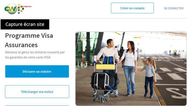 portail officiel : www.visa-assurances.fr