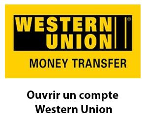 Créer un compte Western Union en ligne