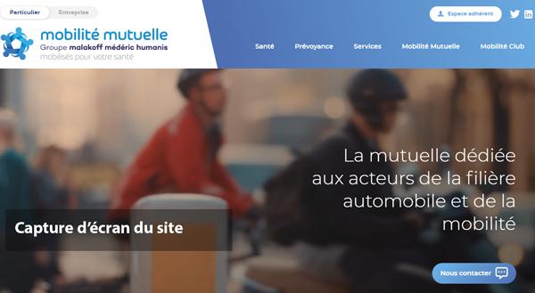 www.mobilitemutuelle.fr : site de la mutuelle