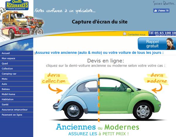 site assurance : www.quattro.fr