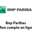 Bnp Paribas Mon compte en ligne particulier