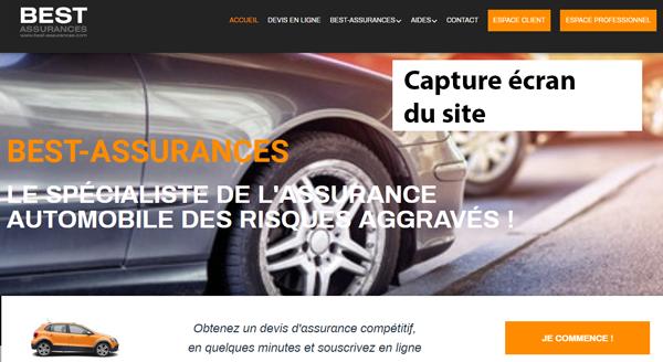 site de l'assureur www.best-assurances.com
