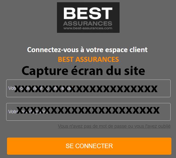best assurances Espace client : les étapes de connexion