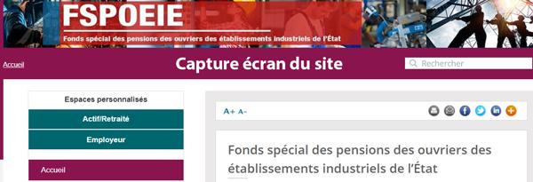 connexion à mon compte fspoeie sur le siteretraitesolidarite.caissedesdepots.fr/fspoeie