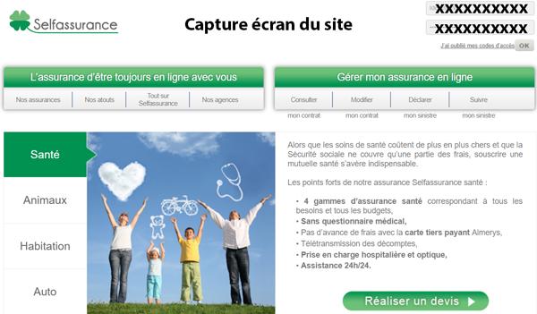 site de self assurance : www.self-assurance.fr