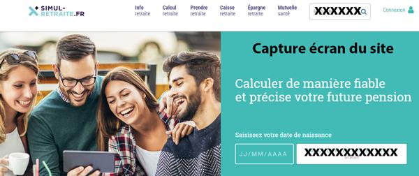 www.simul-retraite.fr : site de calcul de retraite et de pension en ligne