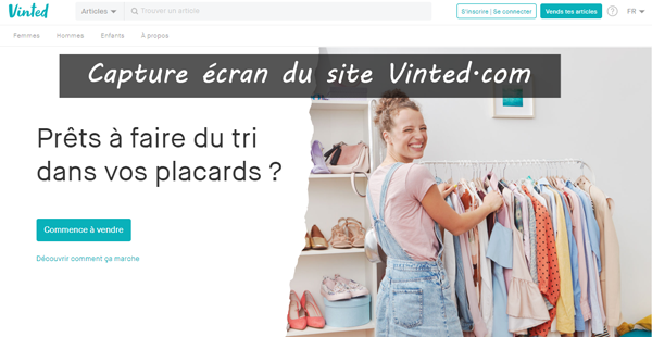 site officiel vinted.com