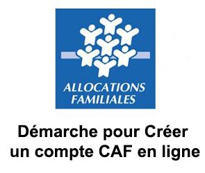 Créer un compte CAF en ligne