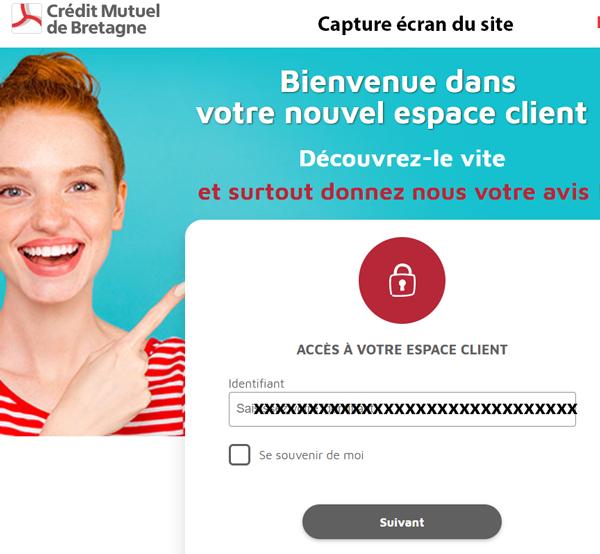 Mon.cmb.fr : site mobile de crédit mutuel de bretagne