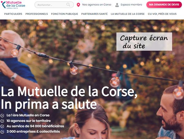 Mutuelle de la Corse à distance : www.mutuelledelacorse.com