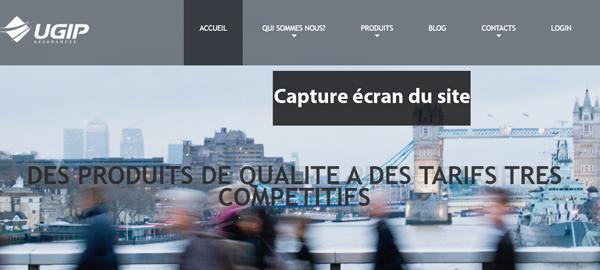 site de l'assureur www.ugipassurances.fr