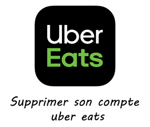 Supprimer son compte uber eats