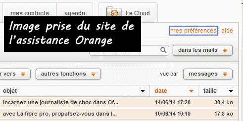 Comment fermer une boite mail Orange alias?