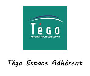 se connecter à l'espace adhérent Tégo
