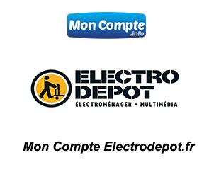 accès à Mon Compte Electrodepot.fr