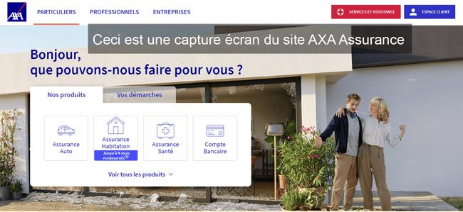 se connecter à mon compte Axa.fr