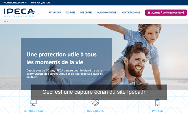 Ipeca.fr accès à mon compte particulier