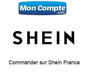 commande sur le site shein France