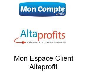 accéder à mon Espace Client Altaprofit