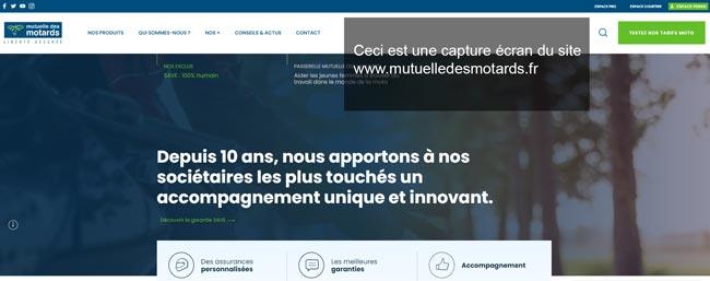 se connecter à mon compte sur le site www.mutuelledesmotards.fr