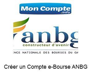 Créer un Compte e-Bourse ANBG