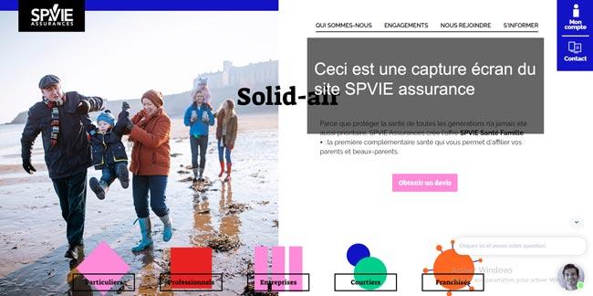 www.spvie.com : le site de spvie assurance