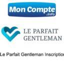 S'inscrire sur le site Le Parfait Gentleman