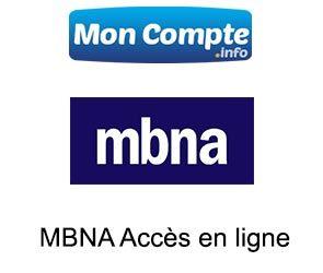 MBNA Accès Compte en ligne