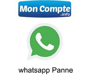 WhatsApp Panne Mondiale aujourd'hui (2021)